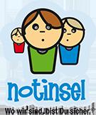 Buntes Notinsel Logo